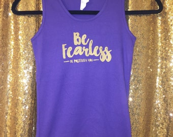 Be Fearless Girls Tank