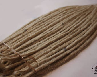 140 Wheat crocheted synthetics dread single and double ended Dreads Dread Dreadlocks Dreadlock