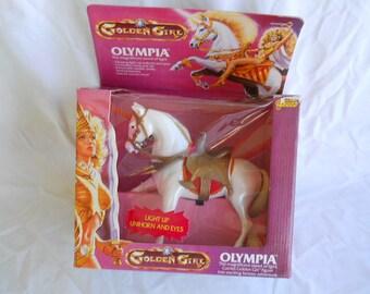 Golden Girl Olympia Horse / Unicorn 1984