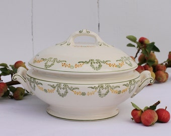 French vintage Longwy 'Georges' tureen
