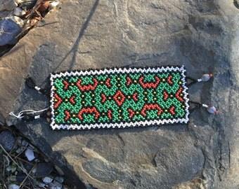 Beaded Shipibo Bracelet