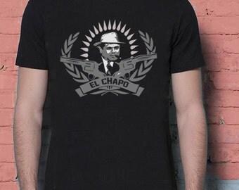 El chapo etsy for Chapo guzman shirt brand