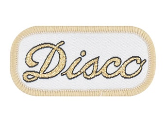 Disco Iron-on Patch (small)