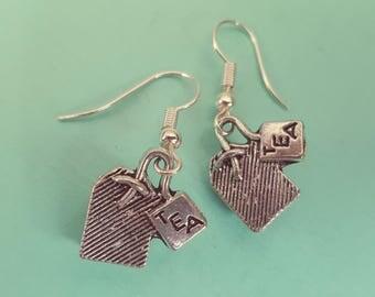 Teabag Earrings