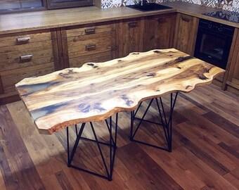 Epoxy Wood, Liquid Glass,Эпоксидная Смола,Компьютерный Стол, Массив Дерева, Стол С Эпоксидкой