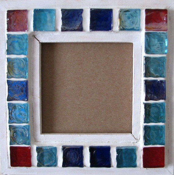 Picture frame 6 5 x 6 5 mosaic original unique ball for Decoration maison original