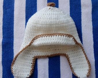 Aviator Hat, Cozy Winter Hat, Winter Biking, Warm Winter Hat, Ear Flap Hats,