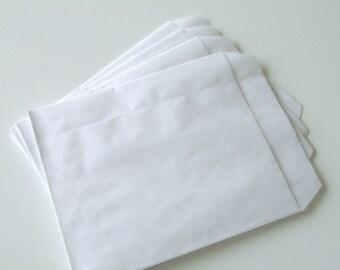 10 pouches 12cm * 13.5 cm bleached Kraft gift bags