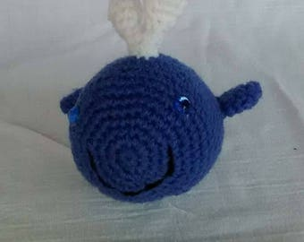 Whale Stuffed Animal, crochet whale, Whale Amigurumi, Whale plushie, Crochet Stuffed Animal, Whale Toy, Whale Plush, Crochet Toys, Whale