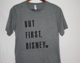 But First, Disney Gray