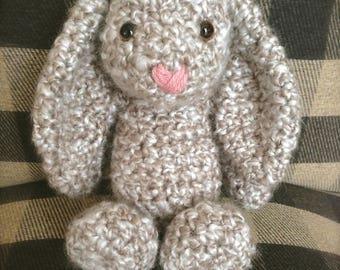 Bunny - Stuffed Bunny - Amigurumi Bunny - Crochet - Easter Bunny