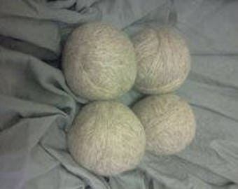 Wool dryer balls, eco friendly, dryer sheet alternative, dryer balls