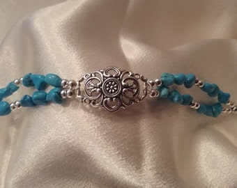 Turquoise double stranded now on sale.  Was 14.95 now 13.95