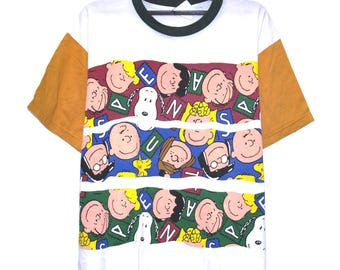 Vintage SNOOPY T SHIRT Peanuts S Tee Shriiipp Series Television  Hip Hop Rap shirt Size Xlarge