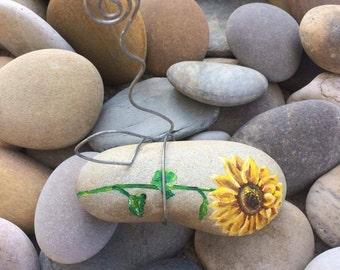 Sunflower Rock Photo Holder