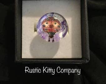 Lucky Ladybug ring