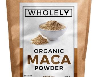 5 Star Superfoods Organic Raw Maca Powder 50g