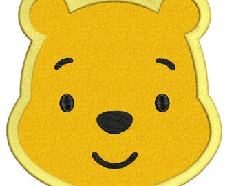 Winnie the Pooh 02 Applique Embroidery Design