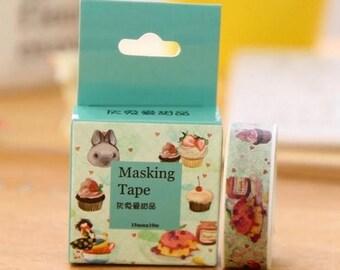 Washi Tape, Masking Tape, tape adhesive scrapbooking DESSERT