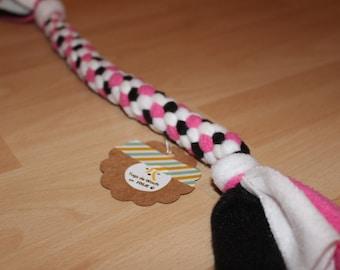tug for dog fleece tug man / toy / agility / flyball
