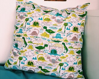 Pillow for decoration-Cushion cover-decorative pillow-dino pillow-cushion children's room-pillow with dinosaur-room decoration