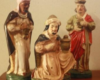 Ceramic Wise Men - Japan