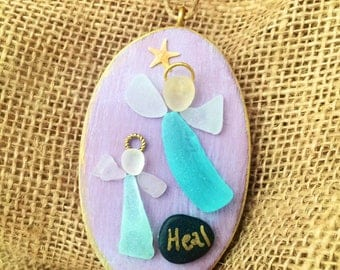 Healing beachcomber angels