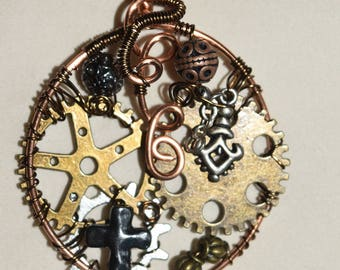 Steampunk (industrial) Pendent