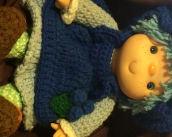 Blueberry Muffin Crochet Doll (Original Collectible)