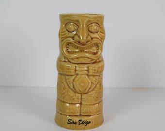 Vintage Chiki Tiki San Diego Tiki Mug