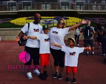 Miss Mouse LITTLE SIS Disney Applique T-Shirt