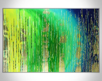 Abstract Painting, Large Painting, Original Painting, Large Art, Blue Painting, Wall Art, Abstract Art, Metallic Painting, Canvas Painting