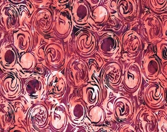 CLEARANCE - RJR - Blossom Batik Brights by Flaurie & Finch - Bella Vita Swirl (2807-005 SWIRL - Celosia)
