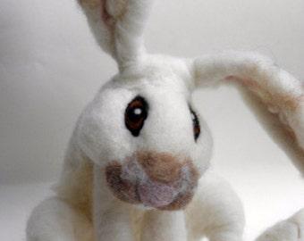 Needle Felted Rabbit- Animal Spirit- Animal Totem Bunny