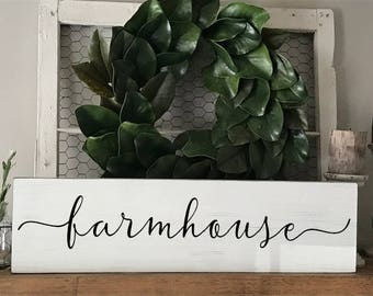 Farmhouse sign, Farmhouse decor, Kitchen signs, Kitchen decor, Rustic signs, Wood signs, Hand painted signs, Wood signs with sayings, Signs