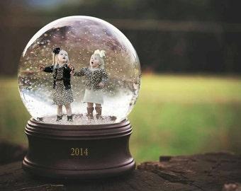 Snow Globe Digital Composite