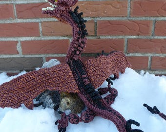 Rainbow Loom Smaug from The Hobbit