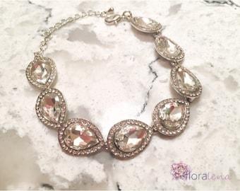 Alice - Tear Drop Bracelet, Special Occassion, Formal Bracelet, Bracelette, Jewlery, Jewellery