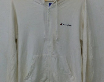 Rare champion hoodie zipper M size