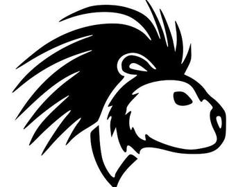 Porcupine - Sticker/ Vinyl / Decal