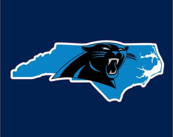 For You Carolina Panthers Fans Car Sticker Living in Tennessee | North Carolina Panthers Car Window Decal