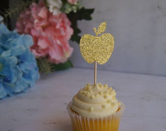 Apple Cupcake Topper