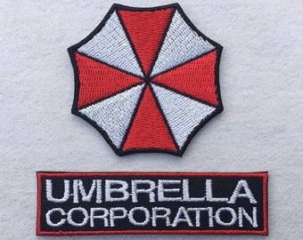 Umbrella Corporation Resident Evil Embroidered Iron On / Sew On Patch Badge