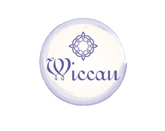 Pre-Made LOGO DESIGN - Customized with Your Name - Wiccan Logo