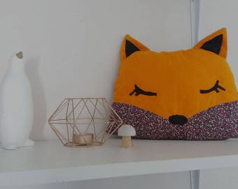 SALE plush cushion Fox Bella-20% with coupon code: SOLDESSUMMER20