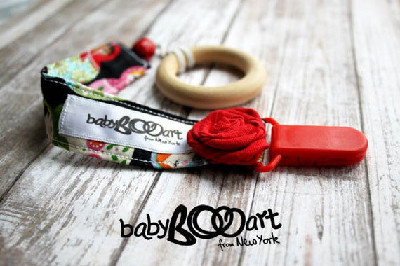 Pacifier Clip   Pacifier holder   girl pacifier clips  