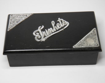 Silver detailed Trinket Box 1905