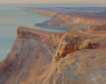 "The painting ""Cape Fiolent"""