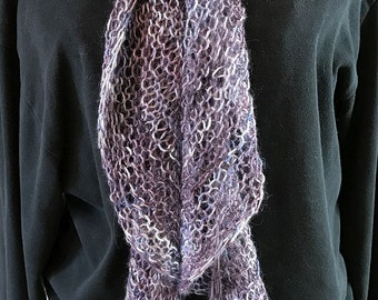Alpaca Twist & Swirl Scarf - Longer Length