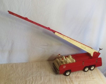 1970's Retro Pressed Steal Tonka Fire Engine, Fire Truck, Collectible Tonka Toy, Mint Condition, Completely Original